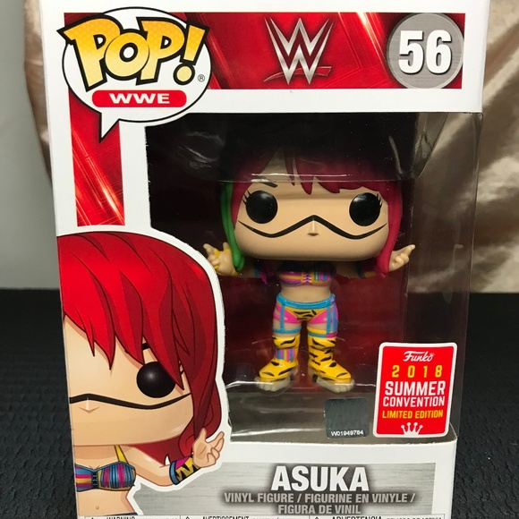 Asuka Funko Pop Vinyle WWE 2018 Summer Convention Exclusive SDCC